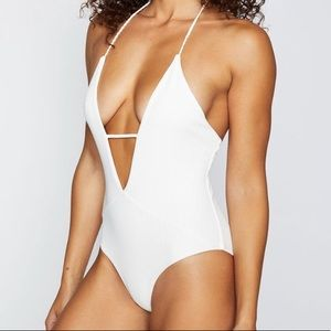 White Lily one piece size small